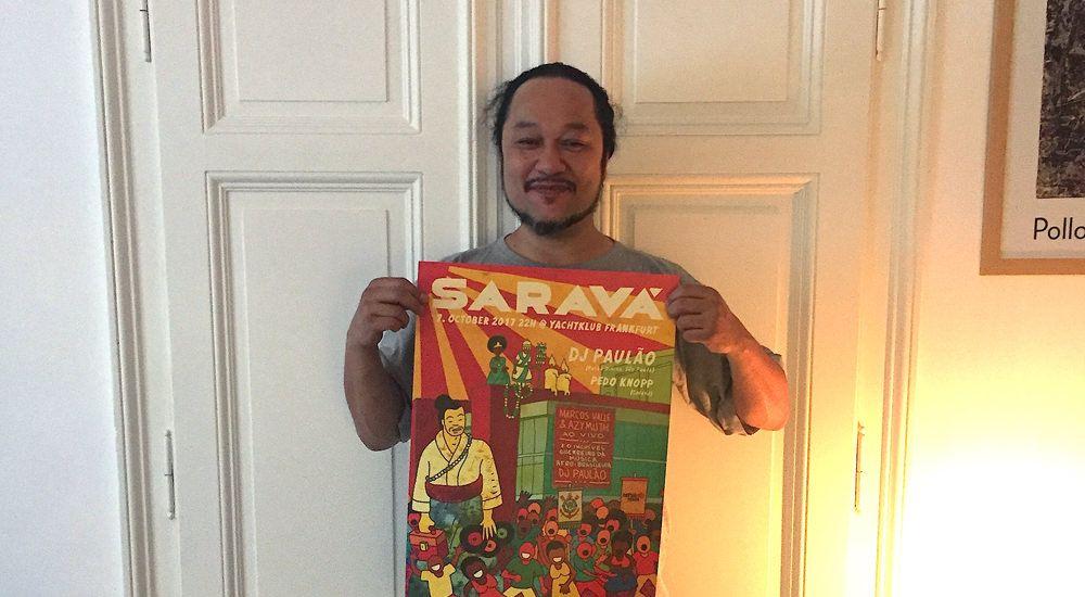 Saravá – Camarão Special w/ Pedo Knopp & DJ Paulão (March 2018)