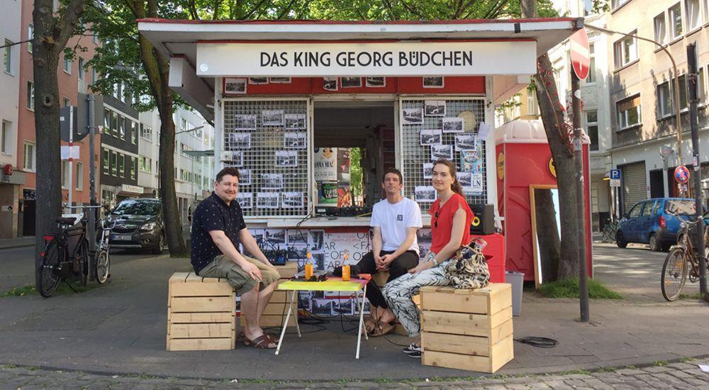 dublab Büdchenradio - Ebertplatz Q&A w/ Johannes Geyer & Nadine Müseler (April 2018)