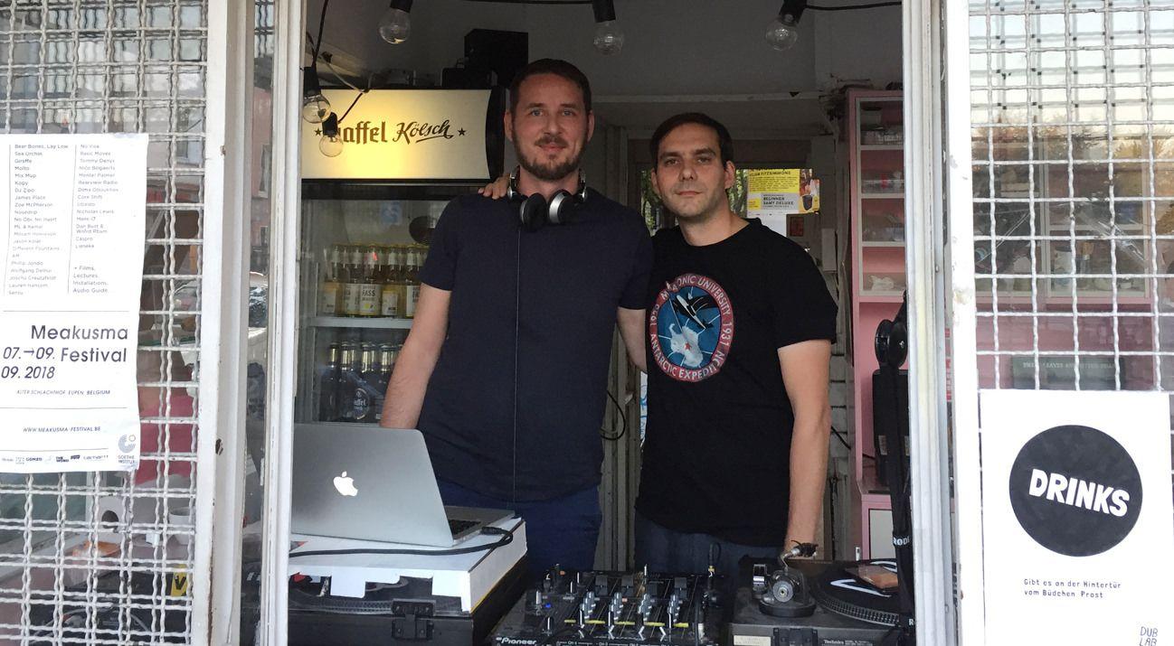 dublab Büdchenradio w/ SoulYeah (Rui Fernandes & Malte Kriewald)
