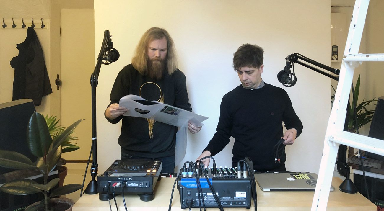 a-Musik Radio w/ Wolfgang Braueis & Holger Adam (January 2019)