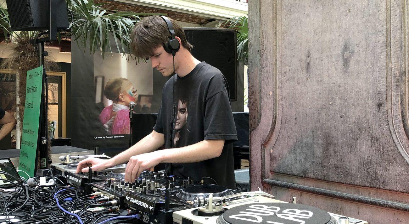 dublab x Kiosk Radio at Listen! Sound District w/ Louis Vogue
