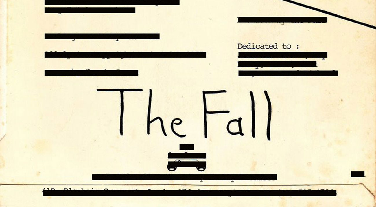 Dedicated to: The Fall w/ Jan Lankisch