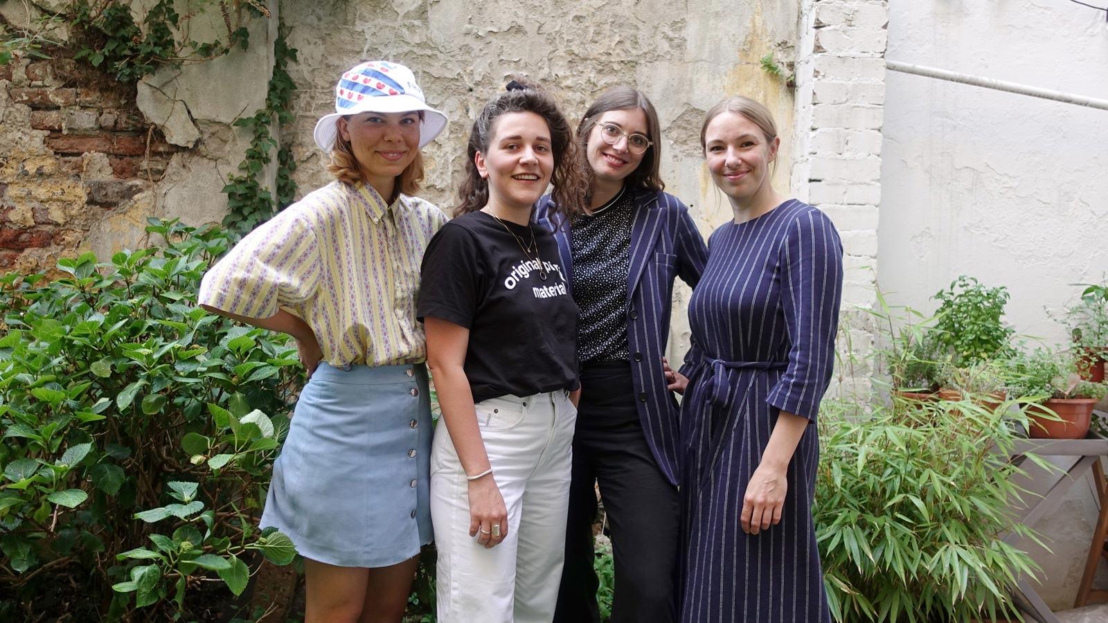 Kleiderei Radio w/ Amelie Liebst, Anna Burst, Maria Kohnen & Anna Agtas (June 2020)