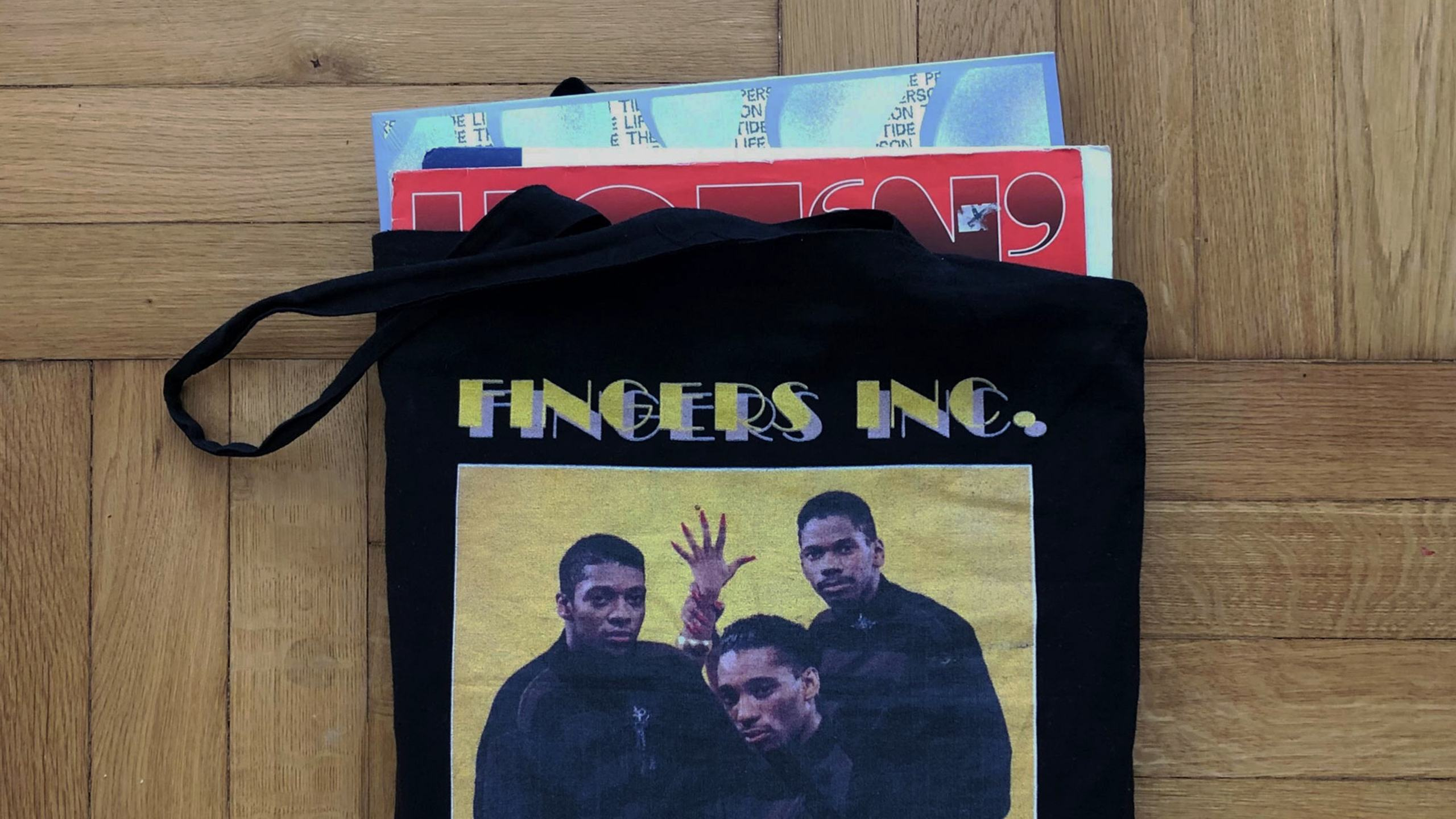 Fingers Inc. Tote Bag